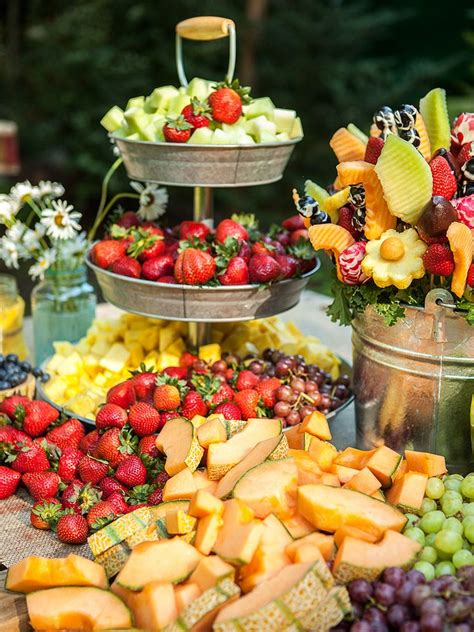 outdoor garden station 25 wedding appetizer ideas your guests will love