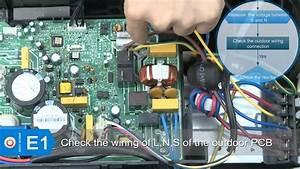 Ac Pro Mini Split Troubleshooting E1 Error Code
