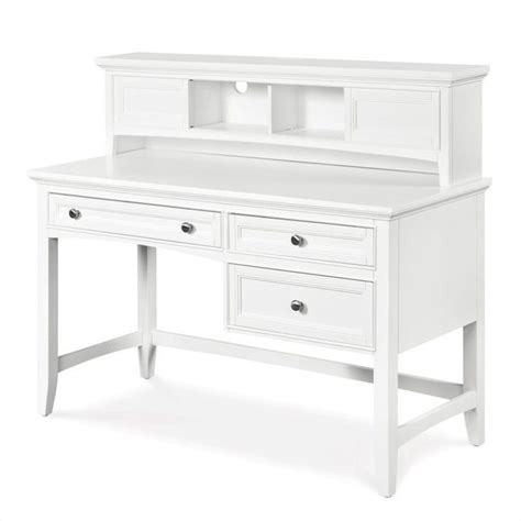 small white desk with hutch magnussen y1875 kenley desk with hutch small white