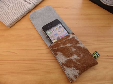 Cowhide Iphone cowhide iphone by gizmo lovegizmo co uk prlog
