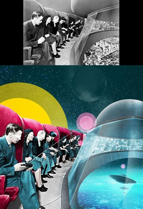 smart surrealist collages  luke robson