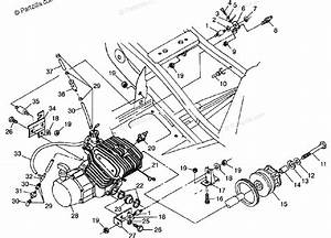 Polaris Atv 1998 Oem Parts Diagram For Engine Mounting