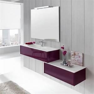 Meuble Salle De Bain Suspendu : meuble bas salle de bain suspendu ~ Melissatoandfro.com Idées de Décoration