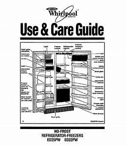 Whirlpool Ed25pw Manual
