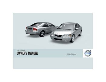 volvo  owners manual   pages