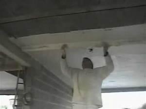 Comment Enduire Un Plafond : renovies services comment enduire un plafond de 25m ~ Mglfilm.com Idées de Décoration