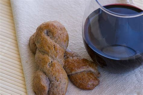 italian wine biscuits recipe  food