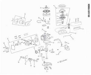 Honda Gxv160 Engine Parts In Canada