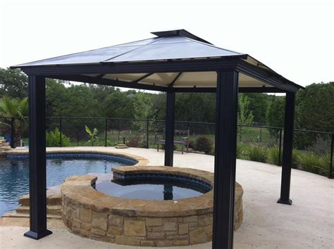 steel gazebo outdoor settings steel fabrication services