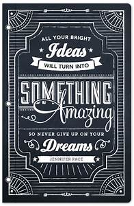 Design chalkboard dreams at mintedcom for Chalkboard font ideas
