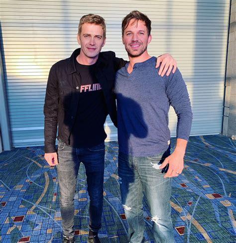 Hayden Christensen Poses With Matt Lanter at Star Wars ...