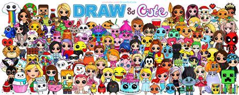 drawn collage cute pencil   color drawn collage cute
