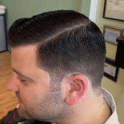 Side Part Taper Fade Haircut