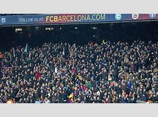 Lowest Camp Nou attendance of the season watches Barcelona