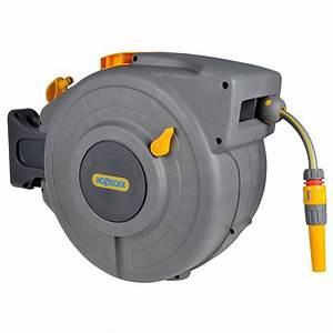 Enrouleur Automatique Tuyau Arrosage : d vidoir automatique auto reel avec tuyau de 20 m hozelock ~ Premium-room.com Idées de Décoration