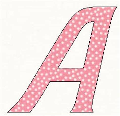 printable alphabet barbie font template pattern
