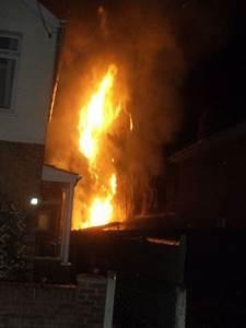 In photos: Fire crews battle 'deliberate' blaze in Highbridge