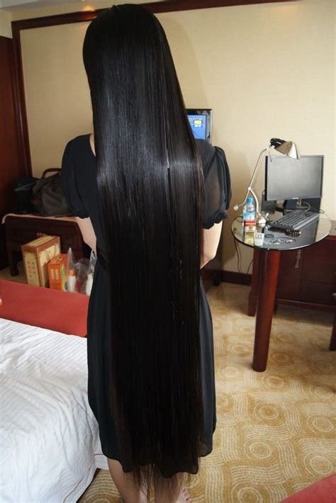 xiaomonv  knee length silky long hair chinalonghaircom