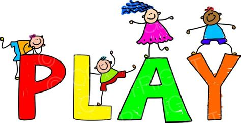 playing cartoon happy cartoon play text kids toddler art prawny clip art