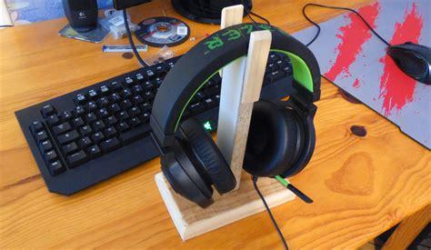 comment fabriquer un bureau comment fabriquer un support pour casque