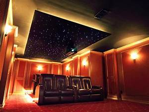 Home theater lighting ideas tips hgtv for Home theater lighting ideas