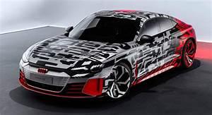 Audi E Tron Gt : audi e tron gt concept reveals itself in first official photos carscoops ~ Medecine-chirurgie-esthetiques.com Avis de Voitures