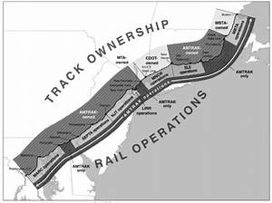 Track Ownership And Rail Operations In The Northeast