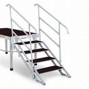 Escalier 4 Marches : escalier 4 marches r glables ~ Melissatoandfro.com Idées de Décoration