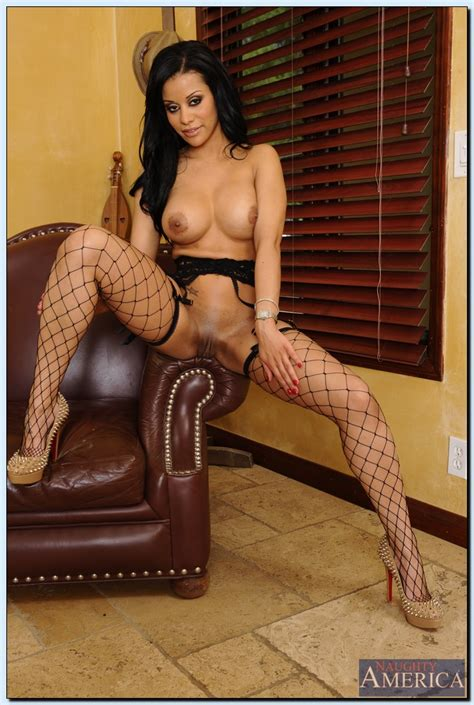 Sexy Woman Is Wearing Fishnet Stockings Milf Fox