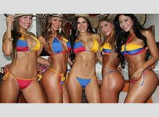 Perú vs Colombia Modelos 'colochas' dse unen para vencer