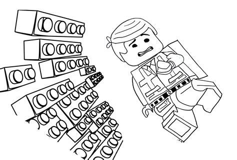 Kleurplaten Lego Emmet.Lego Movie Color Pages Elitflat
