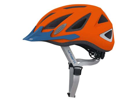 abus fahrradhelm urban    orange fahrradkomfort