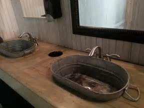 Galvanized Bucket Sink