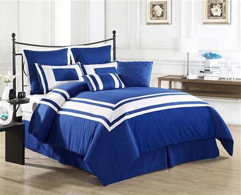 Royal Blue Coverlet by Decor Royal Blue Size Bed 8 Comforter