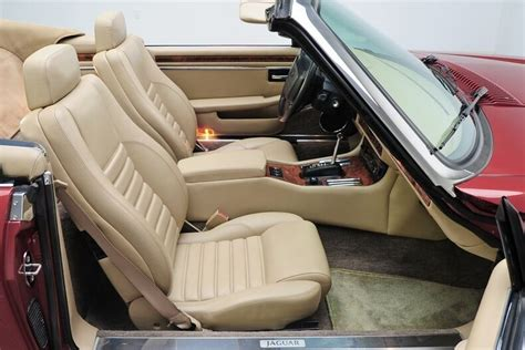 jaguar xjs coupe  convertible leather seat covers