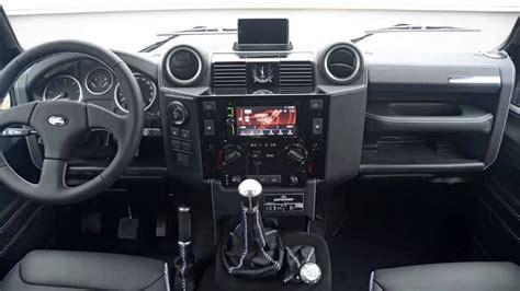 new land rover defender interior car interior 2012 startech land rover defender series 3