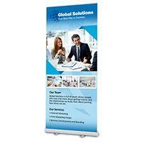 retractable banner template banner printing vinyl and retractable banners 48hourprint