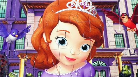 disney sofia   puzzle game picture princess play