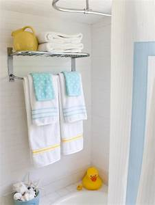 embellished bath towels hgtv With where to put towels in a small bathroom