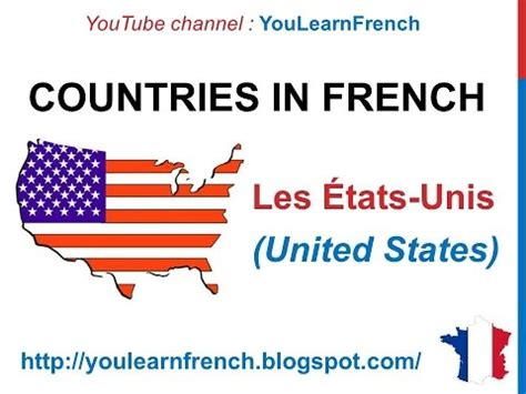 french lesson  countries  french    vocabulary