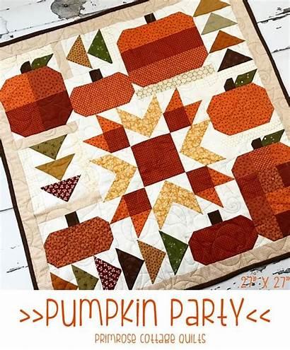 Quilt Pumpkin Patterns Halloween Quilts Pattern Party