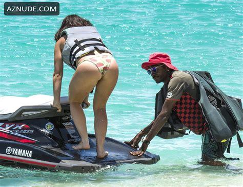Catherine Harding Sexy On The Beach In Barbados Aznude