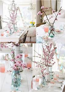Interior, Decor, With, Cherry, Blossoms, With, Images