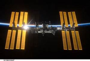 International Space Station salutes the Sun
