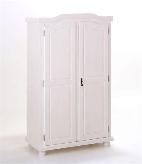 armadio guardaroba armadio in legno massello gisco naturale o bianco guardaroba