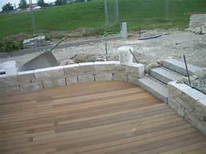 Terrasse Mit Holz : terrasse holz mit stein kombiniert ~ Whattoseeinmadrid.com Haus und Dekorationen