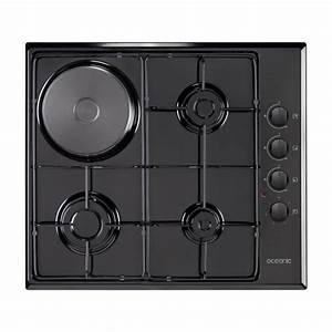 Plaque De Cuisson Gaz Et électrique : oceanic ctm3g1eb table de cuisson mixte gaz lectrique ~ Dailycaller-alerts.com Idées de Décoration