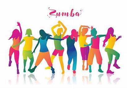 Zumba Workout Party Dance Clip Fitness Clipart
