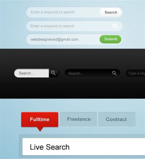 45 search box psd designs for free