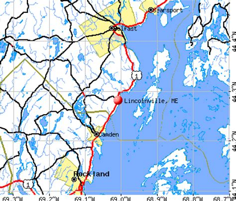 offenders in maine map lincolnville maine me 04849 profile population maps